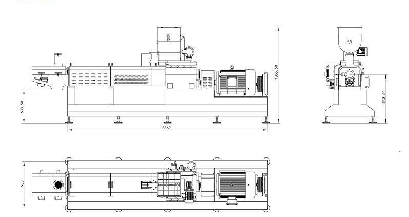 SN80/85/90 多功能经典双螺杆挤出机
