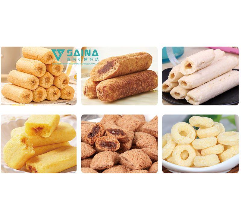 休闲食品方案及生产线