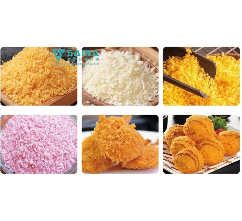 面包糠面包屑方案及生产线