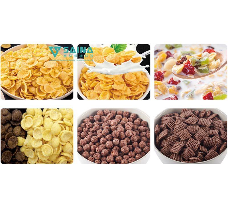 早餐谷物玉米片方案及生产线