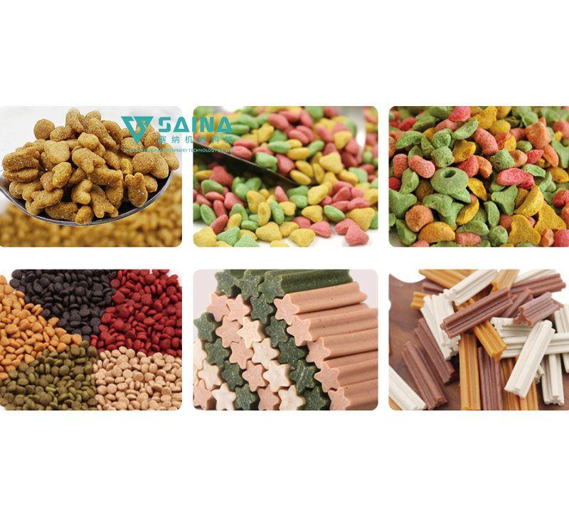 宠物食品方案及生产线