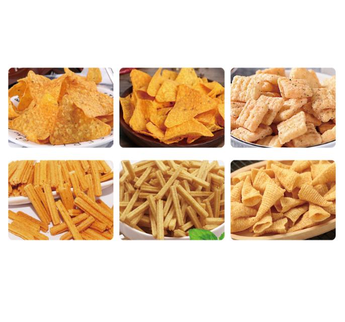 休闲食品多力多兹异形薄饼妙脆角方案及生产线